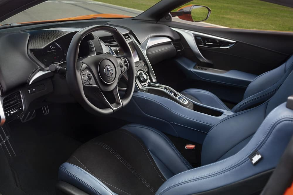 2019 Acura NSX Interior Technology