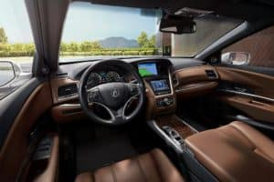 2019 Acura RLX Interior Features