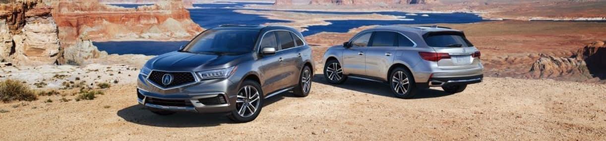 2019 Acura MDX vs Honda Pilot
