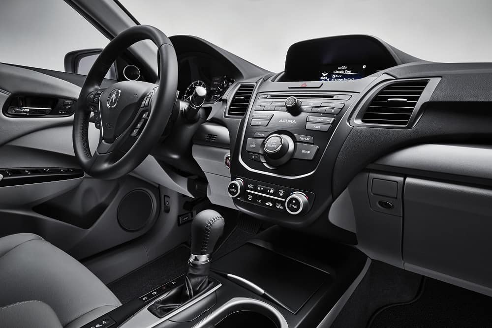 Acura RDX Interior Features