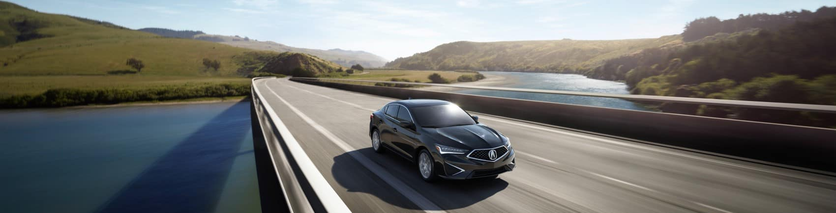 2022 Acura ILX dark driving on a highway