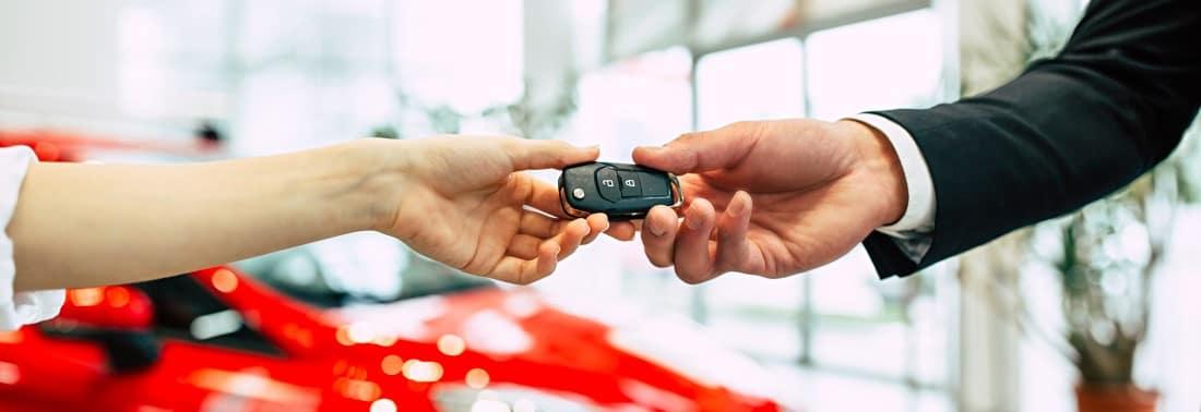 Trading in car keys