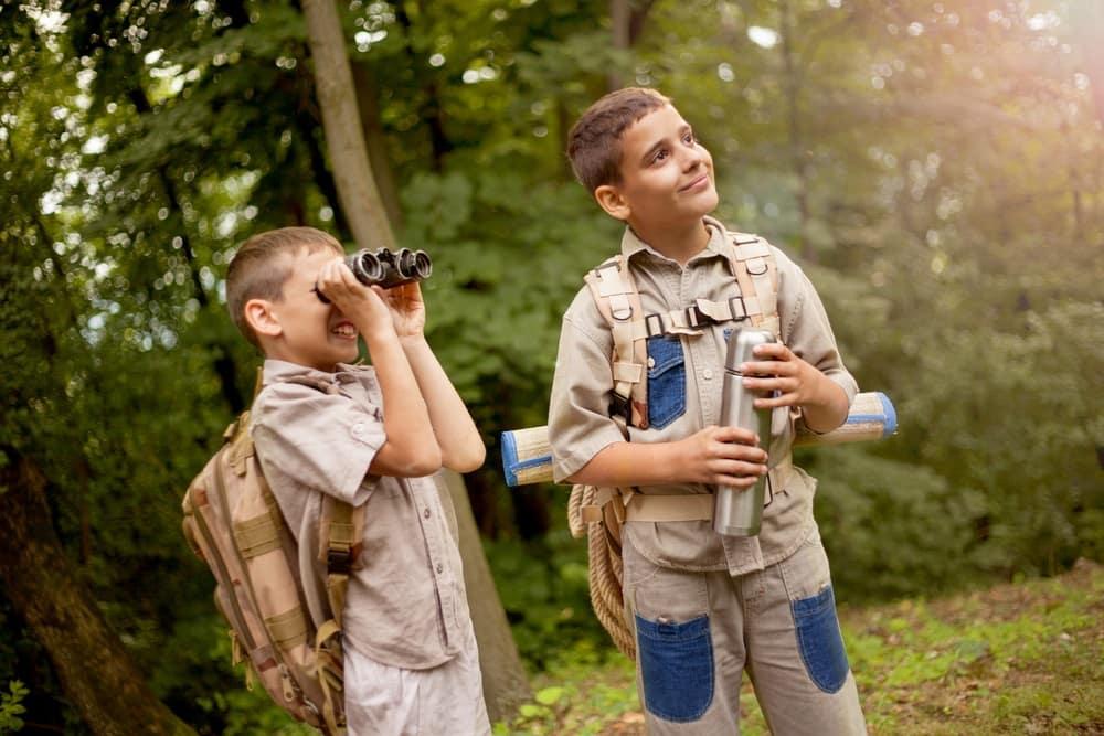Boy Scouts near Philadelphia, PA
