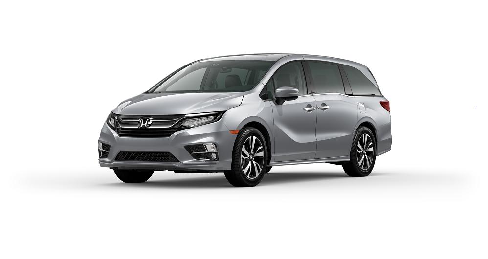 2020 Honda Odyssey Lunar Silver Metallic