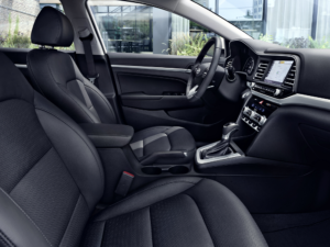 Elantra Space and Comfort