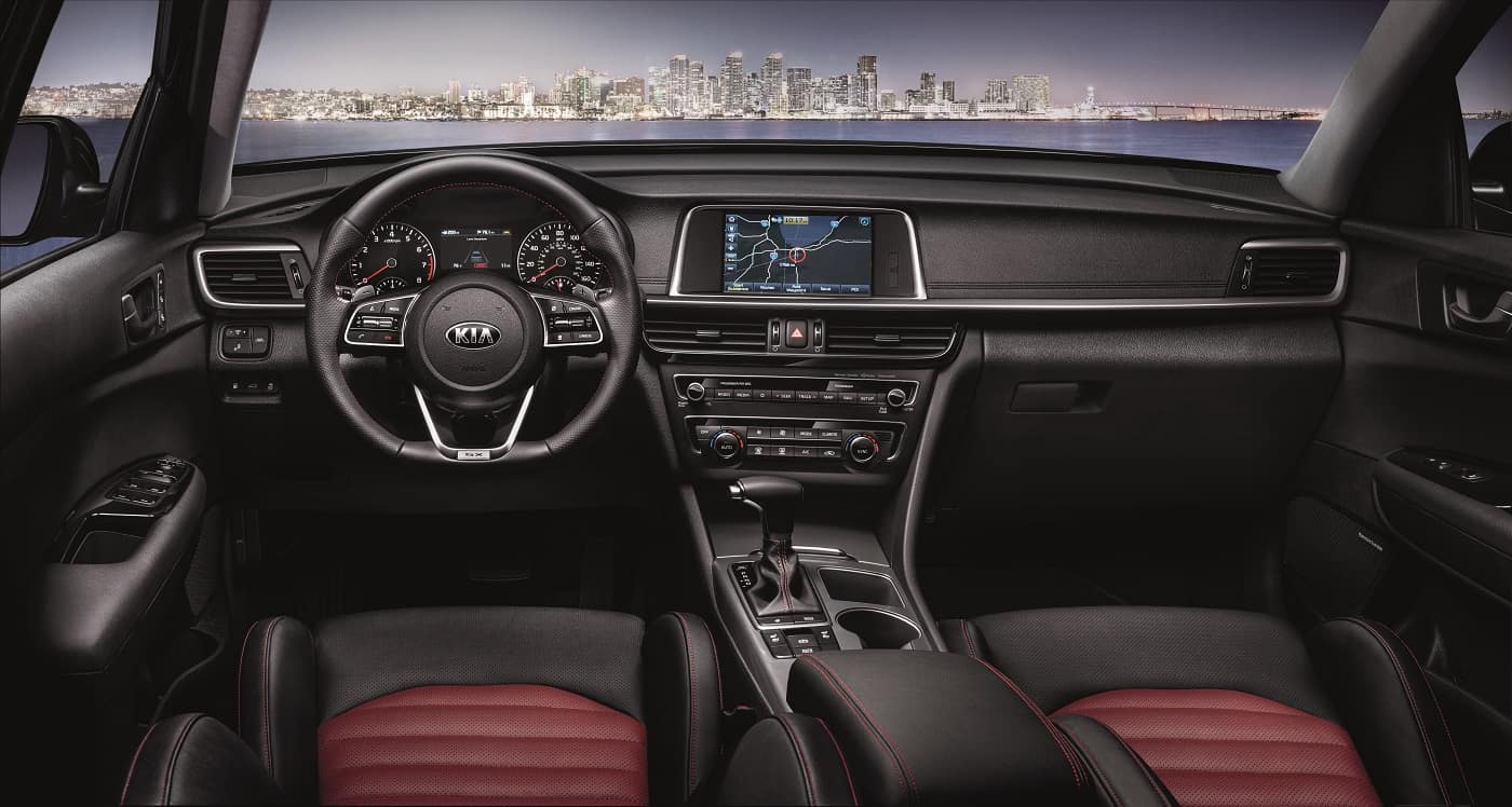 Kia Optima Interior Technology