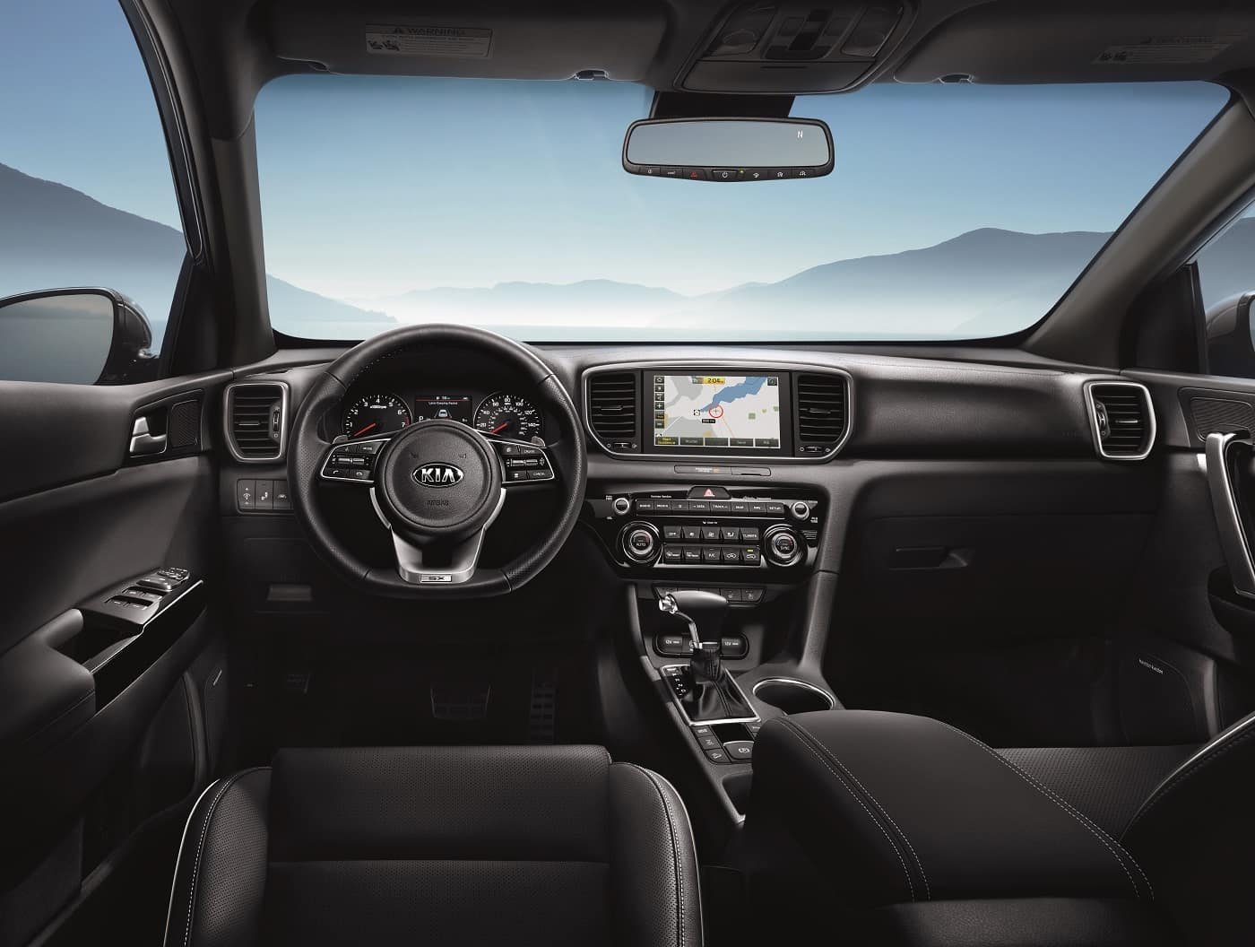 2020 Kia Interior Technology