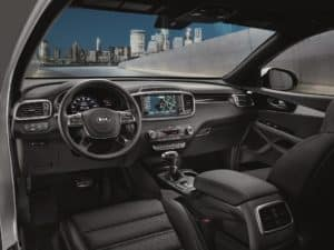 2019 Kia Sorento Interior Black Leather