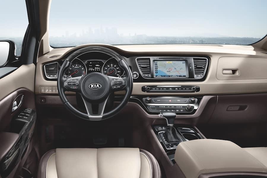 Kia Sedona Interior Technology Features