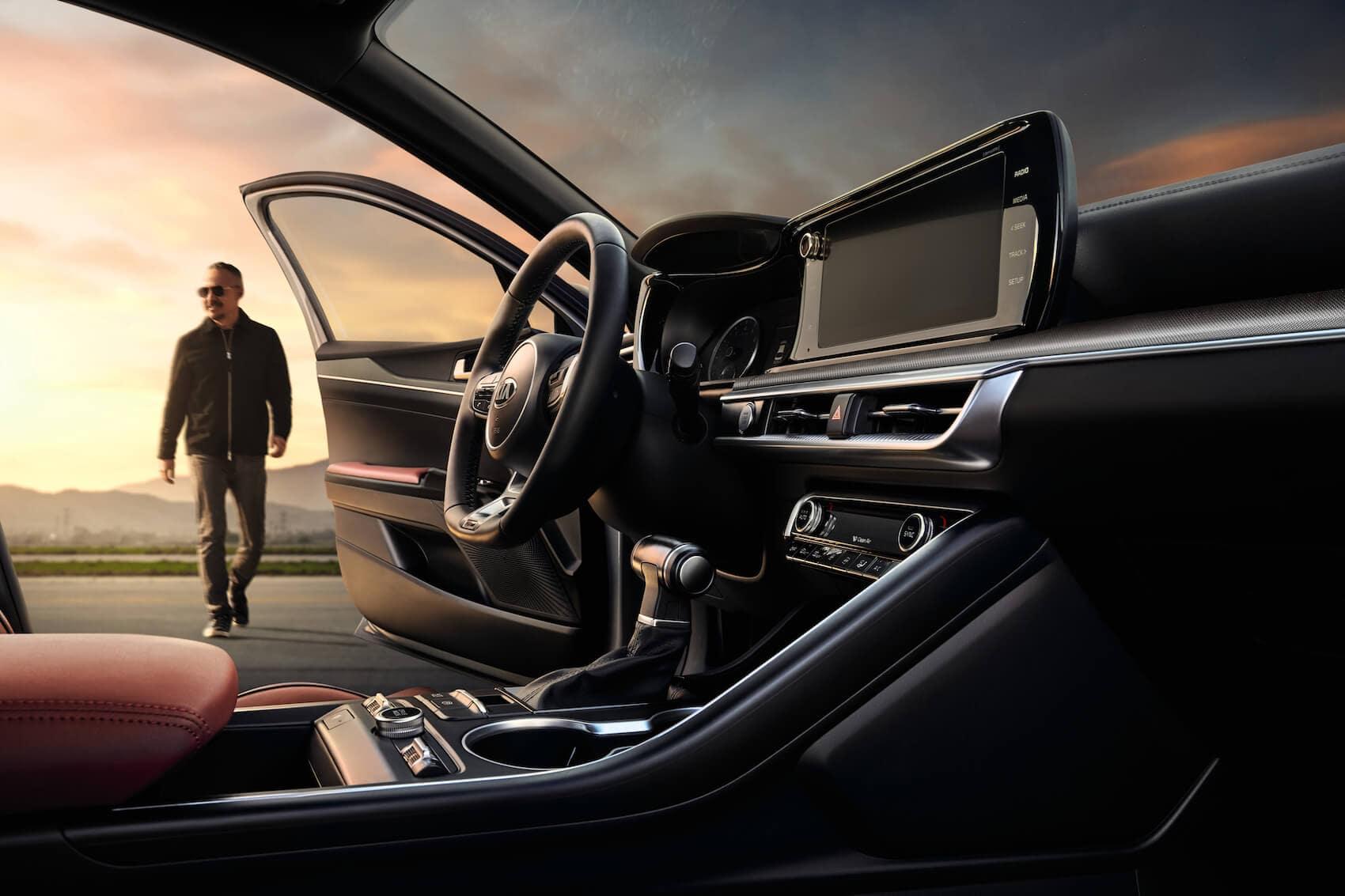 2021 Kia K5 interior Jenkintown, PA