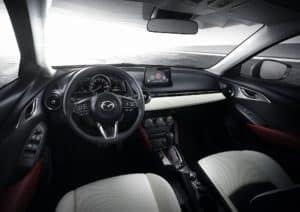 Mazda CX-3 Interior Technology