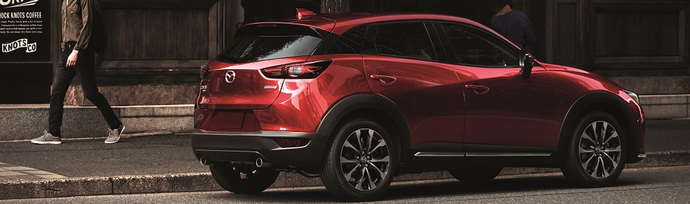 Mazda CX-3 Soul Red Crystal Metallic