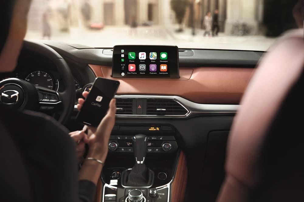 Mazda CX-9 Interior Technology