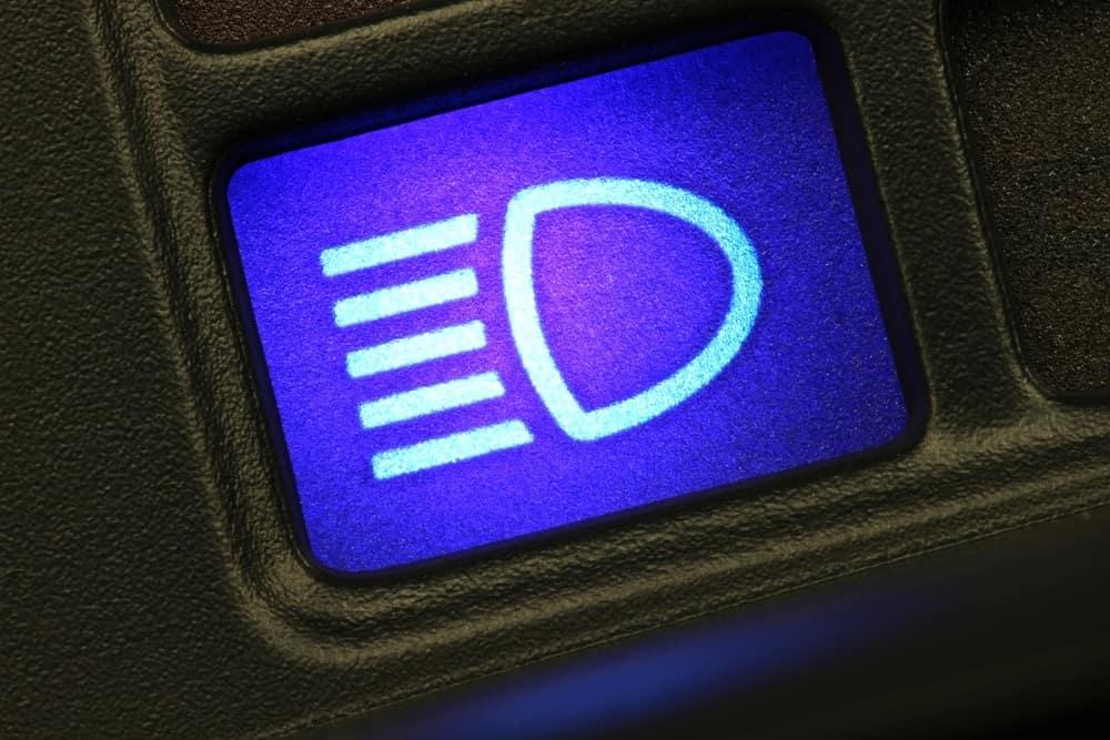 High-Beam Indicator Light