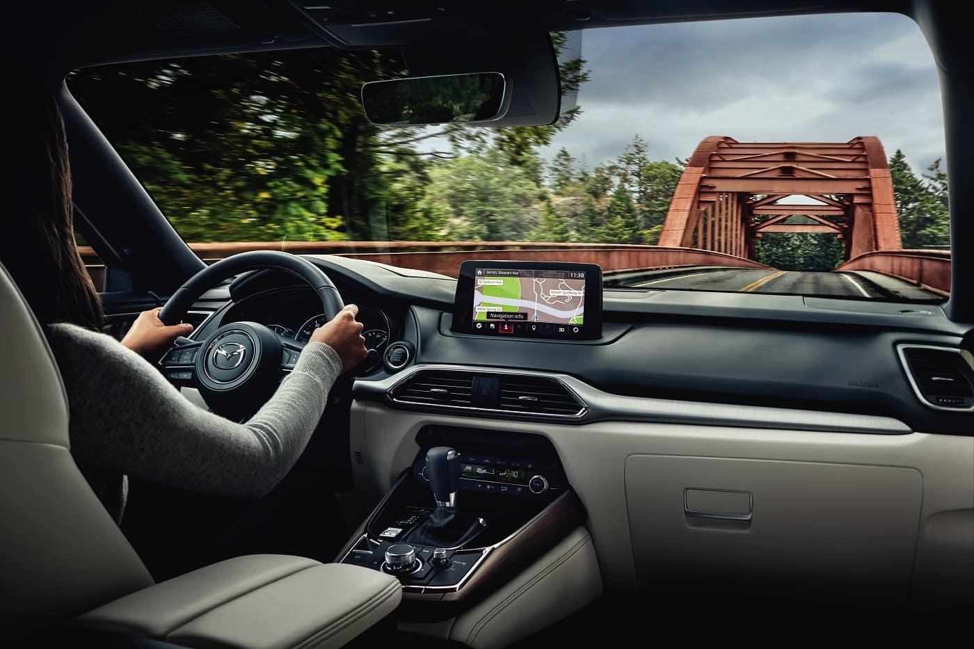 Mazda CX-9 Interior Tech Features