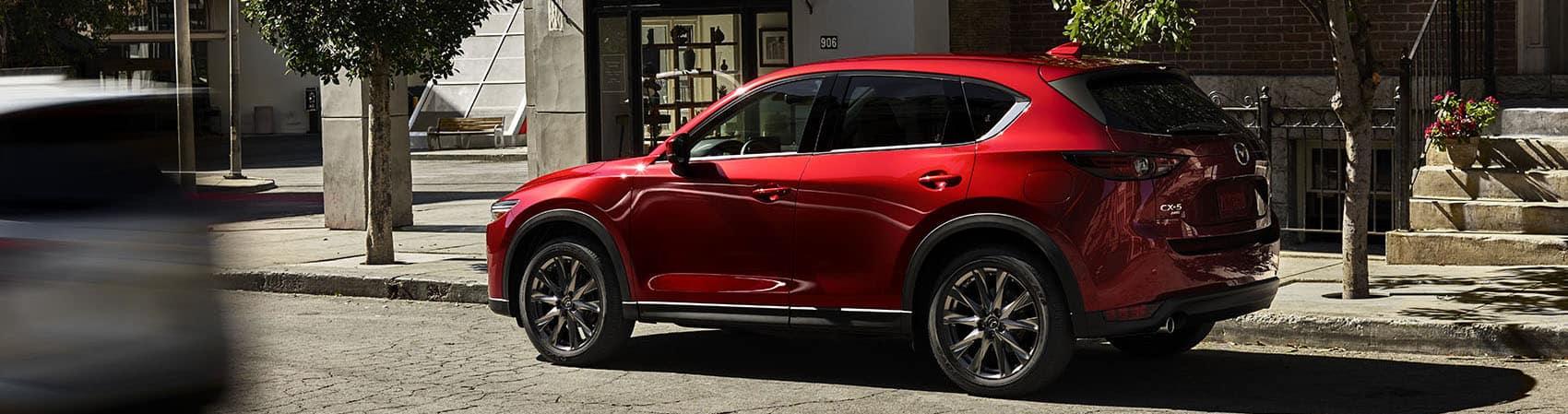 Mazda CX-5 Red