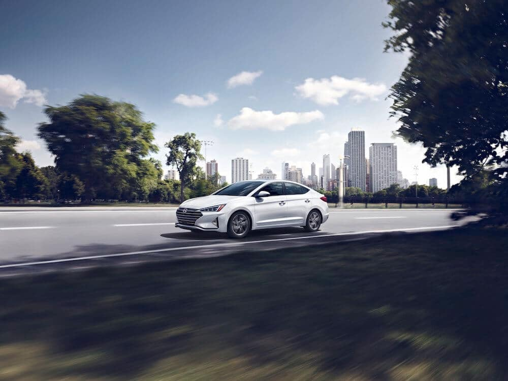Hyundai Elantra for Business Trip