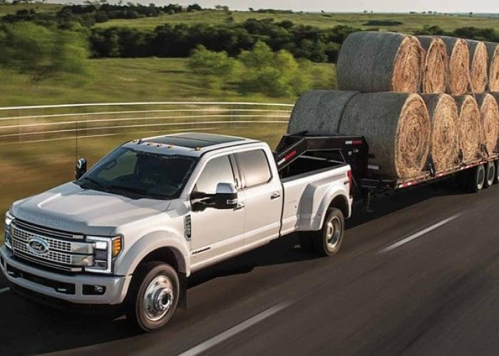 The 2019 Ford F-350 can tow any payload