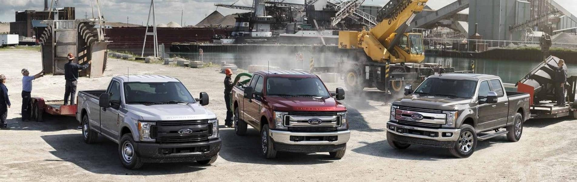 The 2019 Ford F-350 available at Sutton Ford Commercial Truck Center
