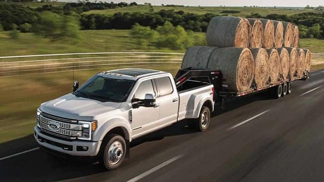 The 2019 Ford F-250 Super Duty is the perfect truck for any work haul