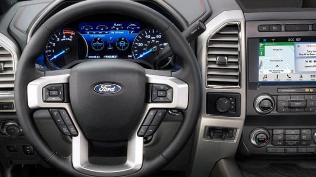 The 2019 F-250 Super Duty features advanced safety features
