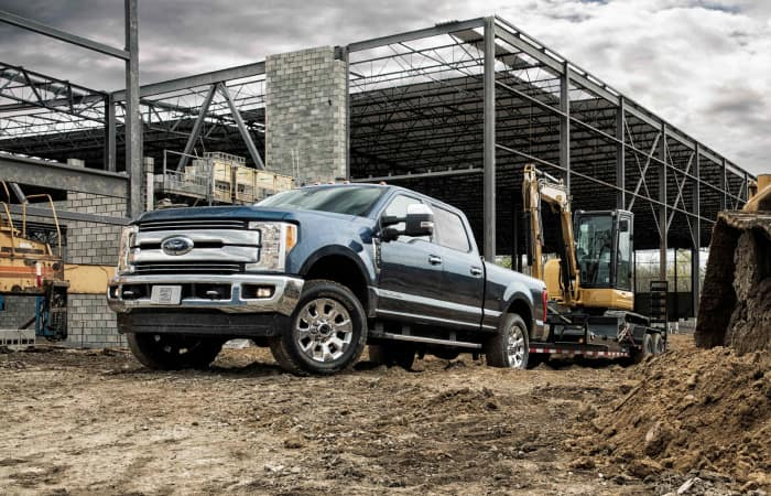 Exterior of the 2019 Ford F-250
