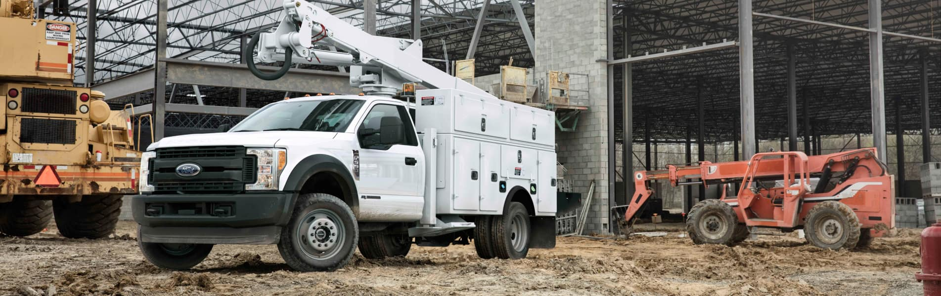 The 2019 Ford F-350 available at Sutton Ford Commercial Truck Center near Oak Forest, IL