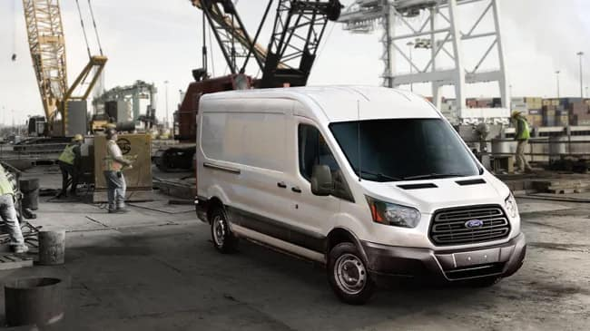 The 2019 Ford Transit commercial van