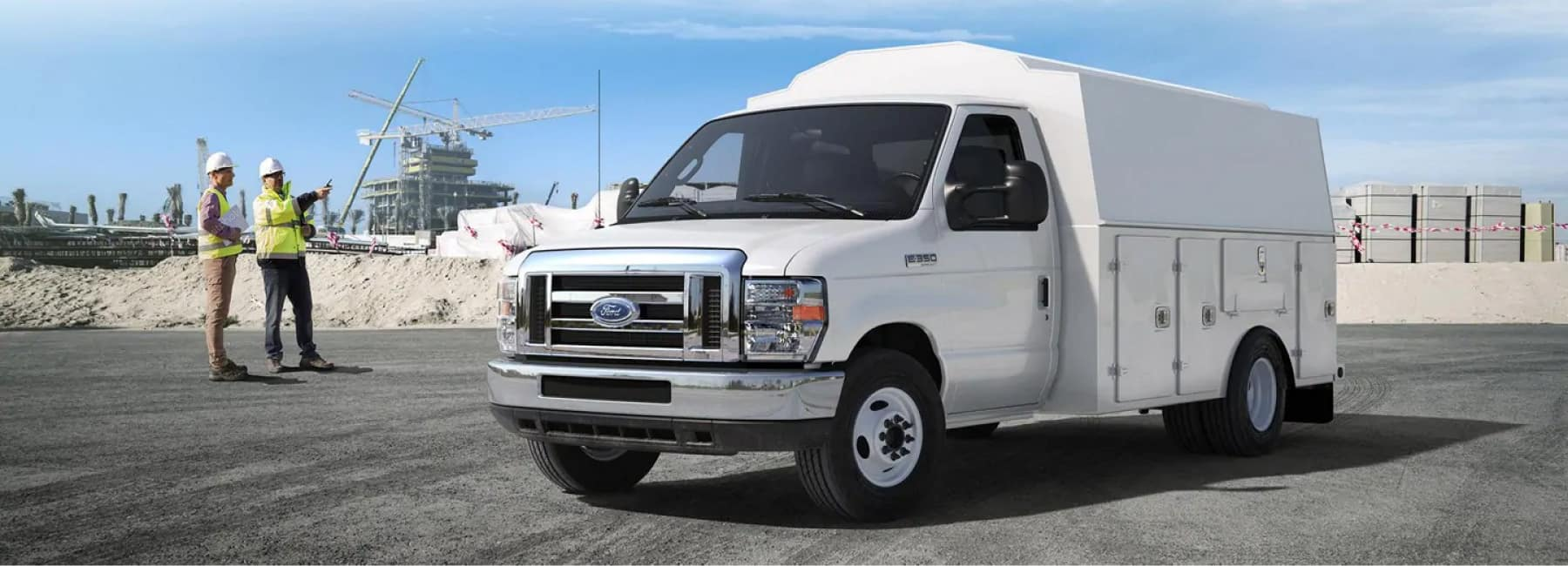 Help your business succeed with a customized Commercial Ford Upfit