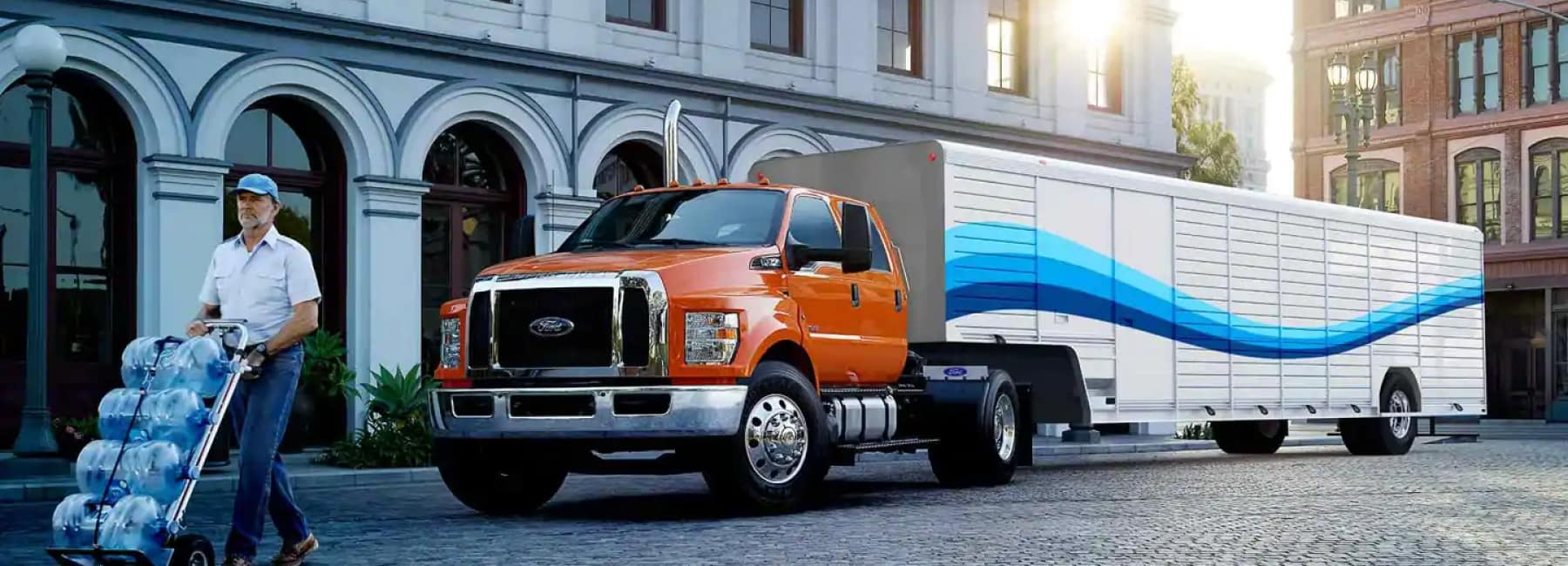 New Ford F-750 Medium Duty Commercial Truck