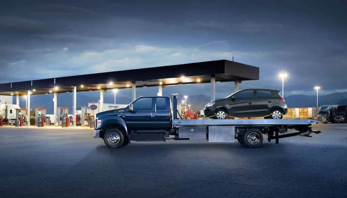 The Ford F-650 available at Sutton Ford Commercial & Fleet