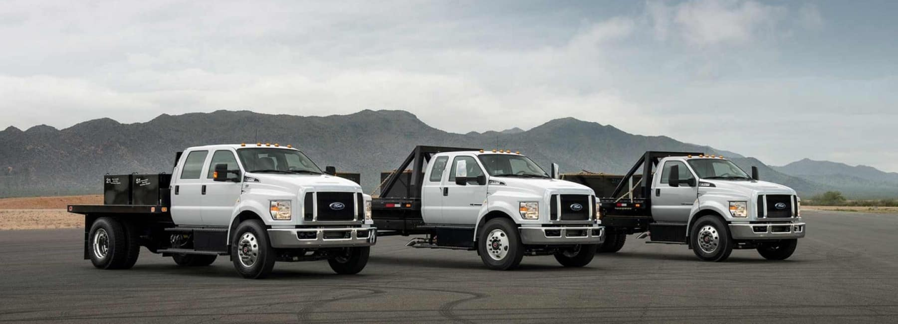 Sutton Ford Commercial & Fleet has a large inventory of medium duty trucks in Matteson, IL