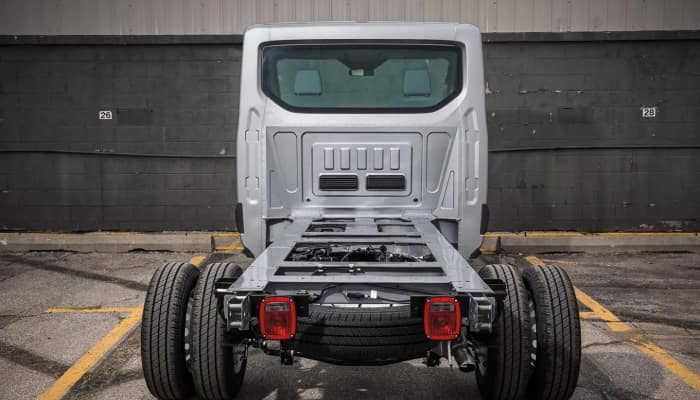 The 2019 Ford Transit Chassis Cutaway available at Sutton Ford Commerical & Fleet
