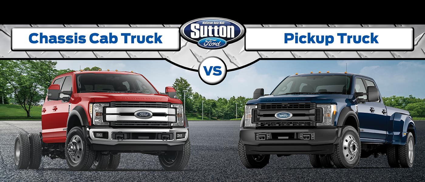 Pickup Truck vs. Chassis Cab
