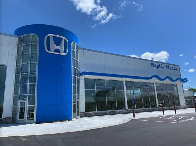 rapids honda dealership image