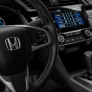 Civic Coupe Interior Front