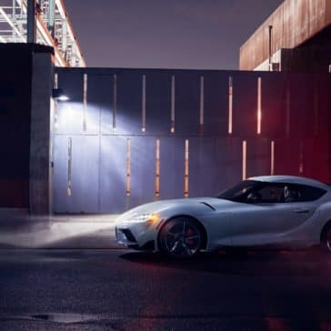 Toyota_Supra_Side_Profile_At_Night