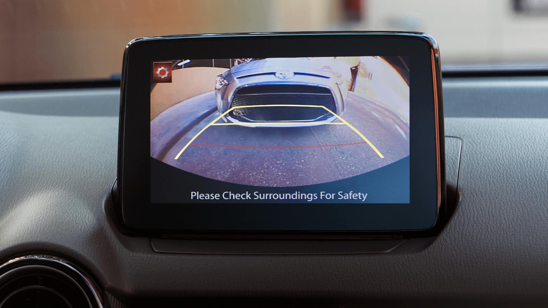 Yaris Hatchback Rearview Camera