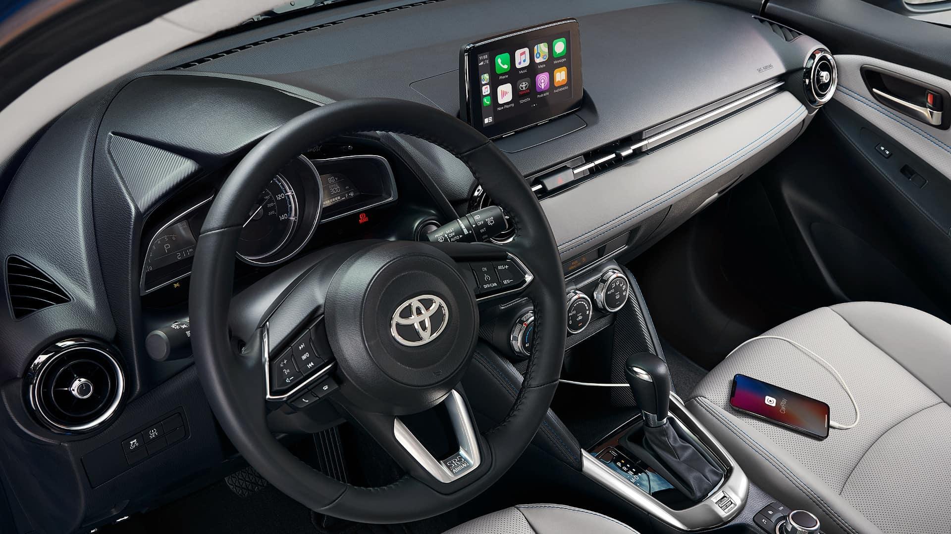 Yaris Hatchback Interior Front