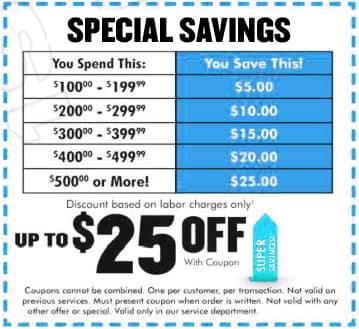 Savings Special