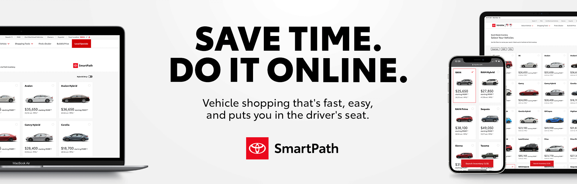 SmartPath - Save Time by Doing it Online