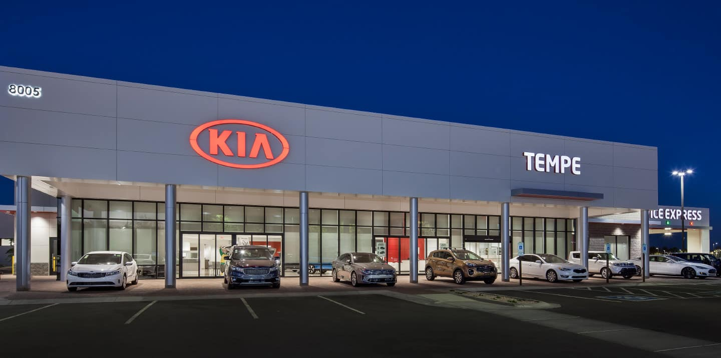 Tempe Kia Homepage Background