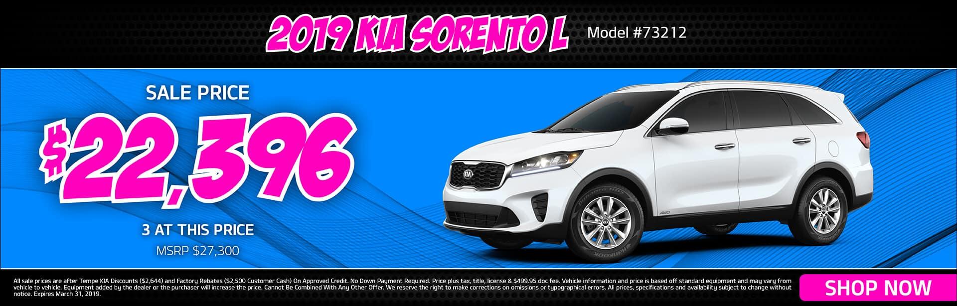 2019 KIA Sorento L Special