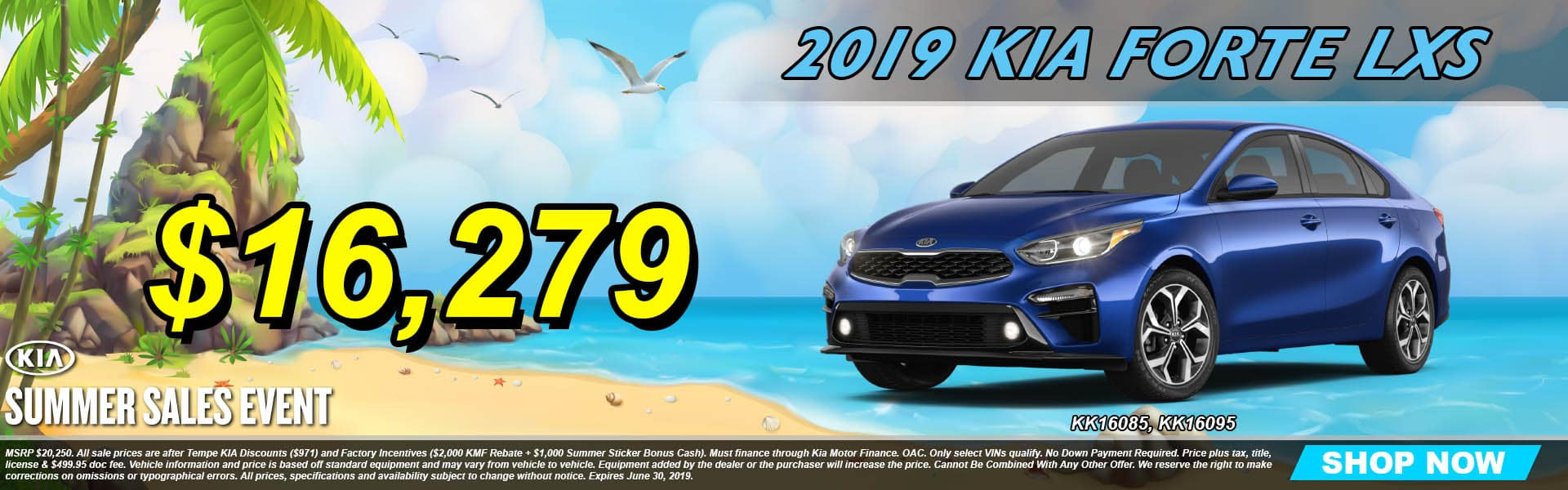 2019 Kia Forte LXS Summer Sales Event