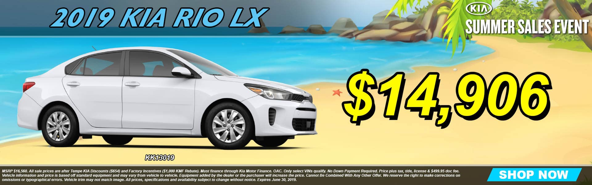 2019 Kia Rio LX Summer Sales Event