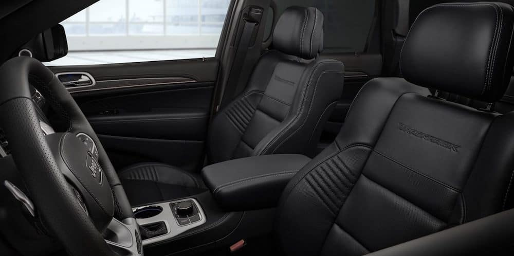 2020 Jeep Grand Cherokee Interior with leather seats