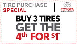 Toyota Tires Special