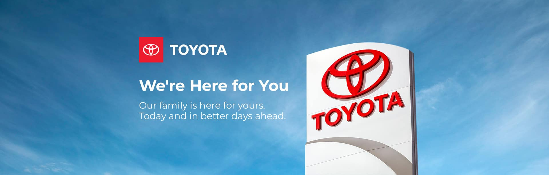 Toyota of Merrillville We're Here For You