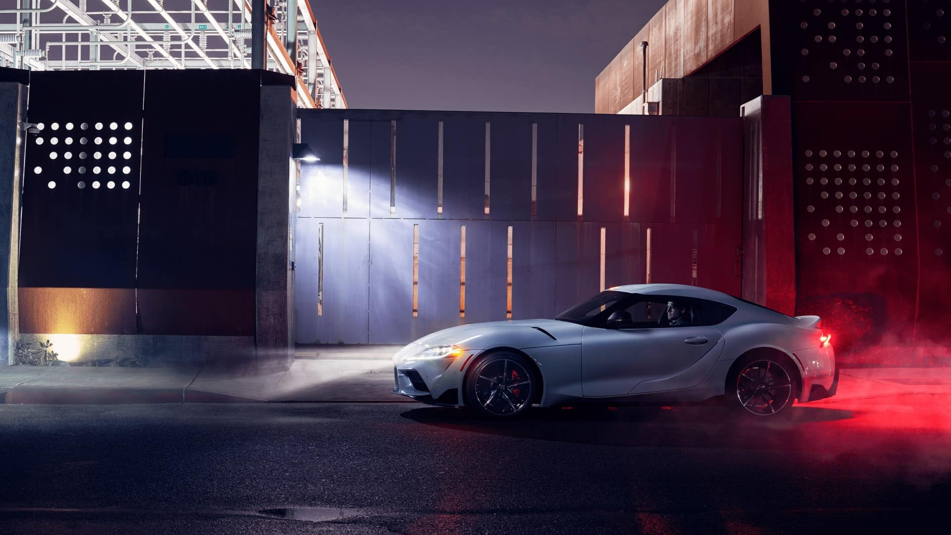 Toyota_Supra_Side_Profile_At_Night