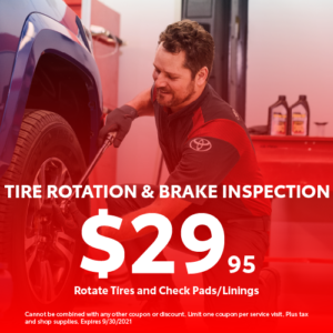 Tire Special and Brake Inspection